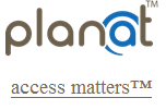 Planat accessibility website