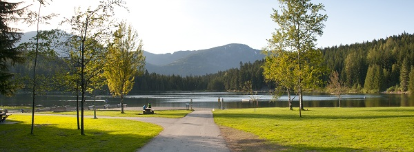 Lost Lake in summer