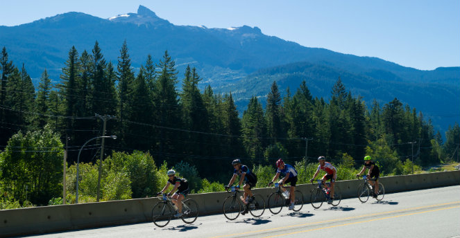 Granfondo image by Mike Crane, Tourism Whistler