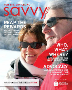 Whistler Savvy cover page