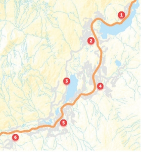 Whistler central evacuation muster points map