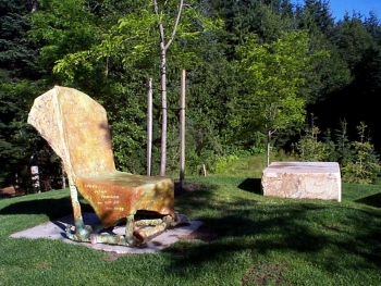 Whistler Public Art_StorytellersChair