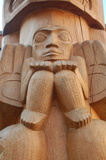 Whistler Public Art_First Nations Totem