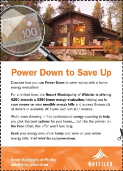 Power Down to Save Up coupon