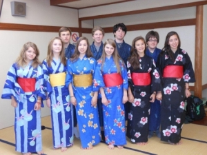 RMOW Students from the 2012 Sister City Exchange Program.