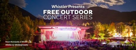 Whistler Presents Free Outdoor Concert Series