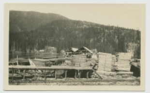 Parkhurst lands logging - Whistler Museum and Archives Society