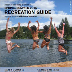2015 RMOW Spring/Summer Recreation Program Guide