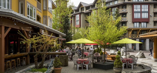 Patio in Whistler image by Justa Jeskova
