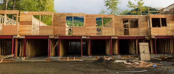 New multi-family building photo by Mike Crane