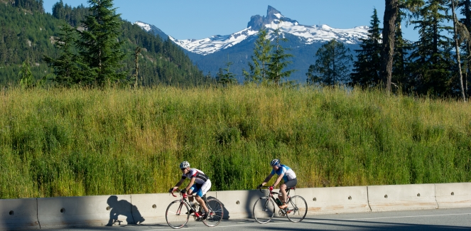 Road cycling Sea to Sky Highway photo by Mike Crane/TW