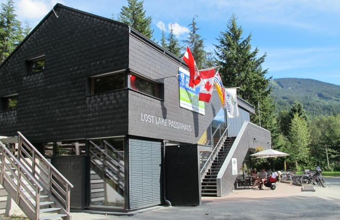 Lost Lake PassivHaus in the summer