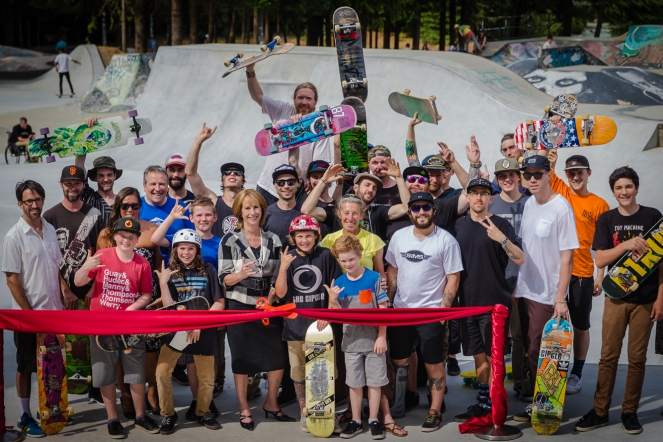 Whistler Skate Park Opening photo credit: Clint Trahan