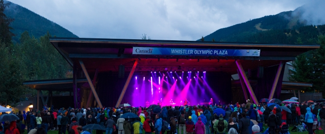 Photo: Mike Crane, Whistler Olympic Plaza, Whistler