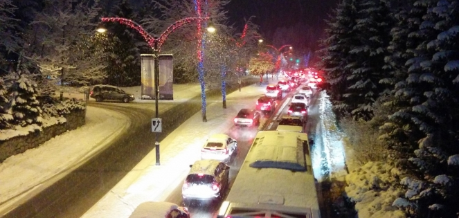 Traffic in Whistler image