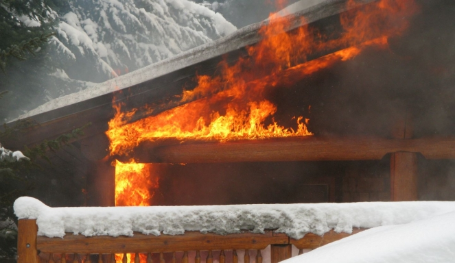 Whistler house fire image