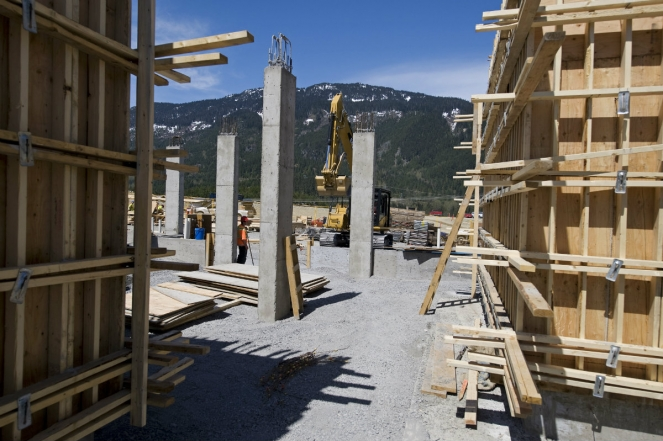 Whistler construction