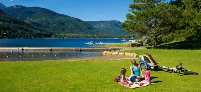 Whistler Lakeside Park - photo credit: Mike Crane