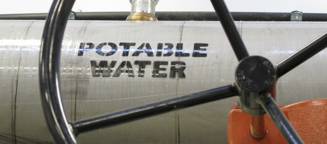Potable water pipe