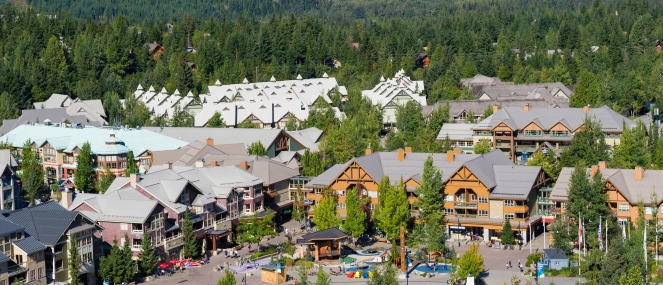 Whistler Village image by Mike Crane