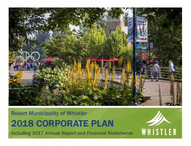 2018 Corporate Plan cover image
