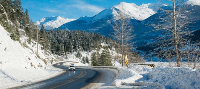 Highway image by Mike Crane, Tourism Whistler