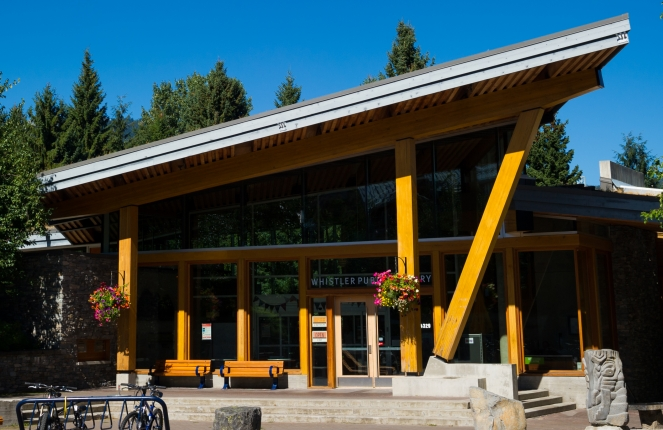 Whistler Public Library image by Mike Crane