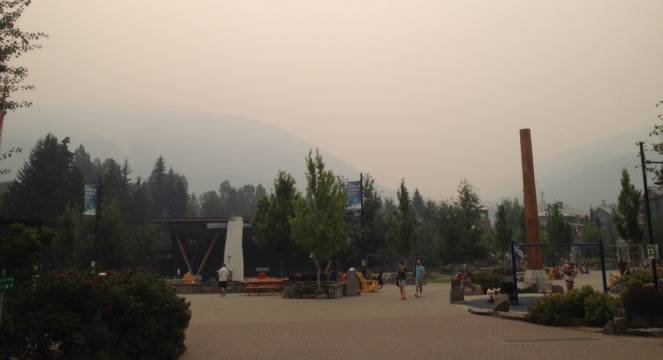 Smoke in Whistler image
