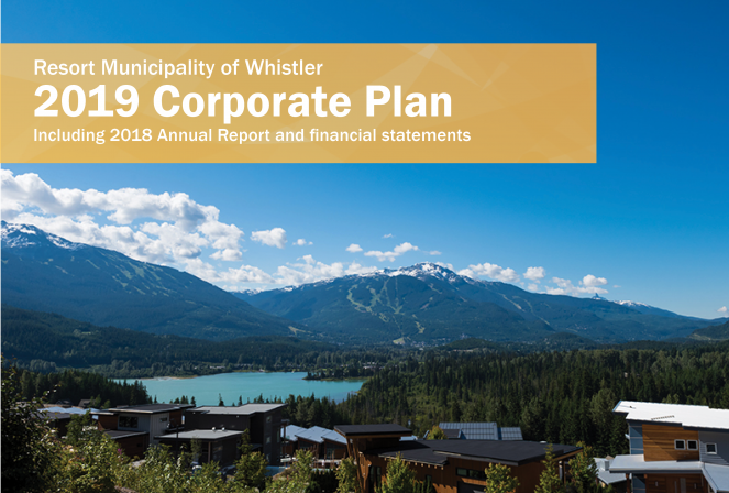 2019 RMOW Corporate Plan cover image