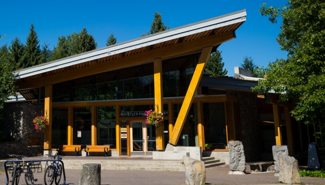 Whistler Public Library - Photo by Mike Crane