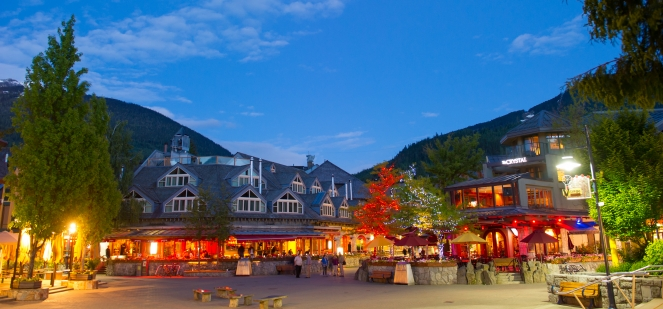 Whistler Village Square image by Mike Crane