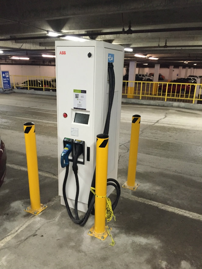 Whistler Installs New Dc Fast Charging Station For