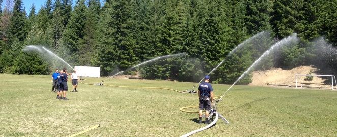 Fire fighting water cannons