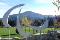 Olympic Rings and Paralympic Agitos