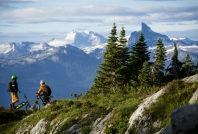 Alpine Trail network Whistler photo credit: Justa Jeskova