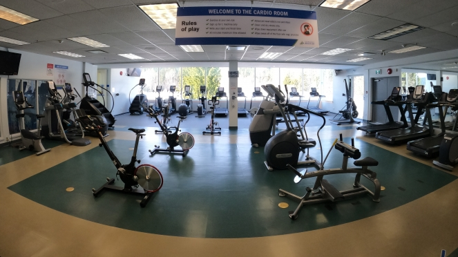 Meadow Park Sports Centre Cardio Room