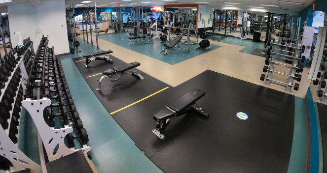 Meadow Park Sports Centre Weight Room