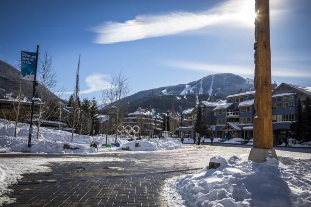 Whistler Olympic Plaza in winter image by Justa Jeskova