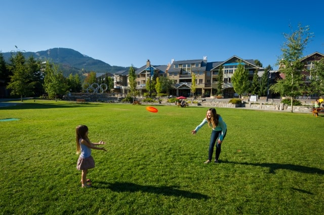 Summer Whistler Olympic Plaza image by Mike Crane