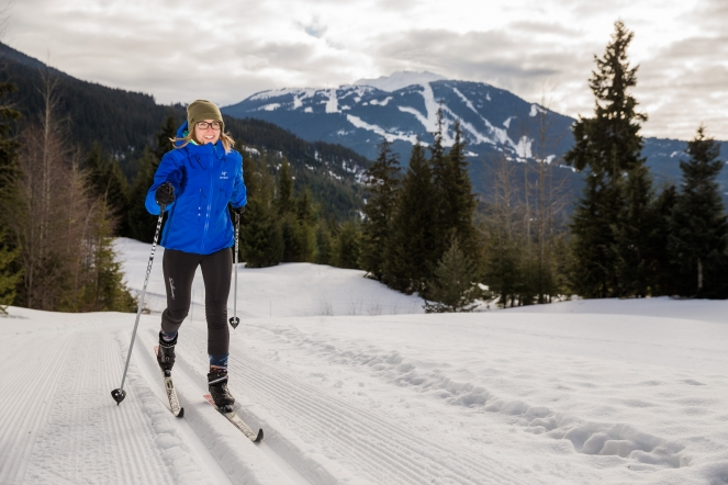 Nordic Skiing on Lost Lake Trails, photography by Sean St. Denis