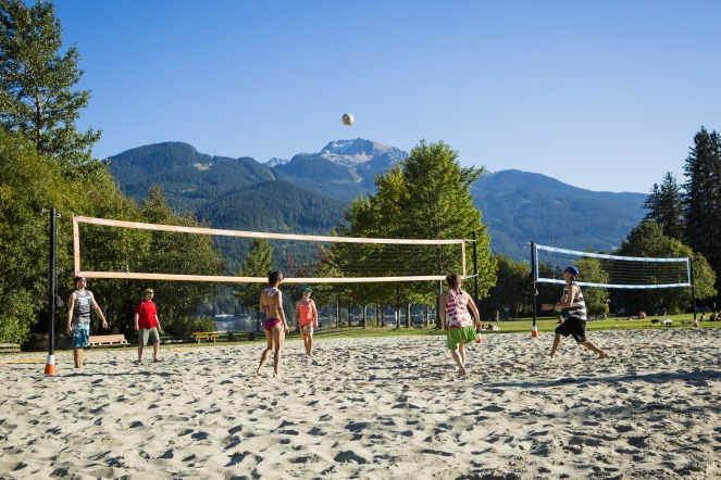 Rainbow Park sand volleyball courts image by Justa Jeskova