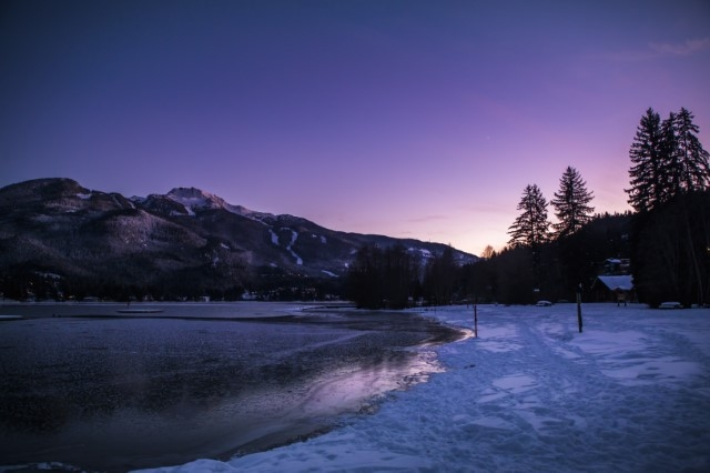 Winter views from Rainbow Park image by Justa Jeskova