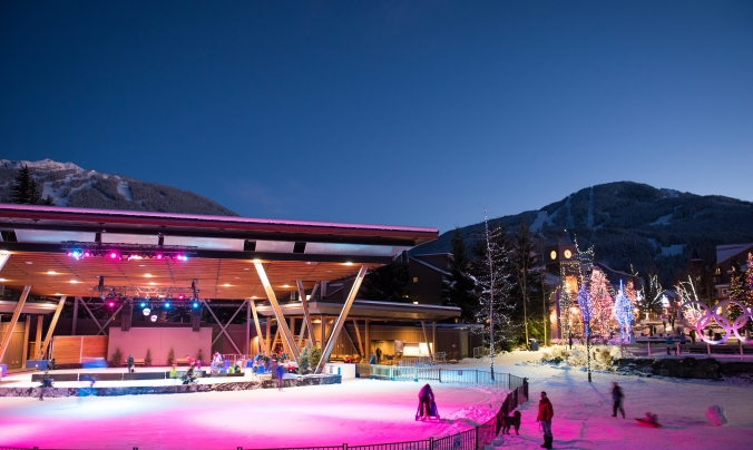 Whistler Olympic Plaza photo by Mike Crane/Tourism Whistler