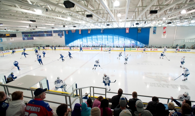 Vancouver Canucks at Meadow Park Sports Centre