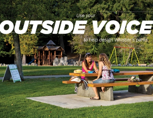 Complete the survey to help design the future of seven Whistler parks
