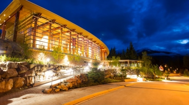 Photo by Mike Crane of the Squamish Lil'wat Cultural Centre