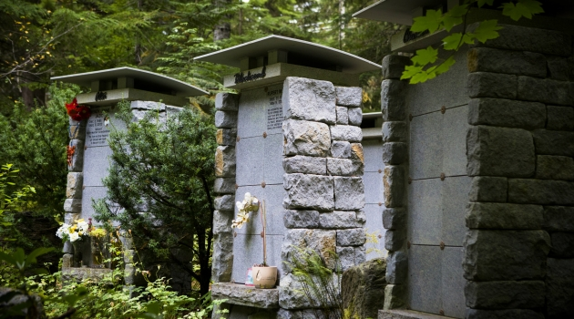 Columbarium Niche photo by Justa Jeskova