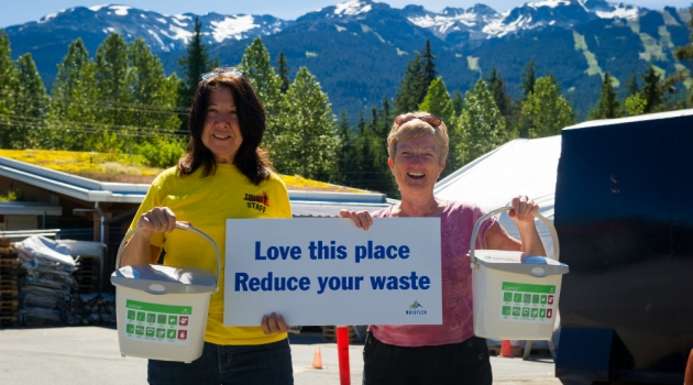 Whistler organics recycling photo by Mike Crane