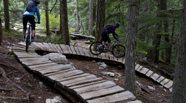 Lost Lake bike trails image by Justa Jeskova