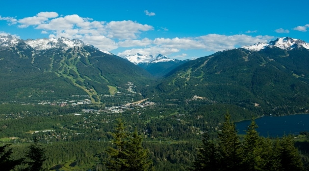 Overview of Whistler resort